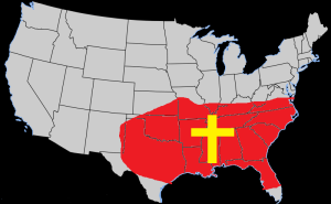 USA Bible Belt a